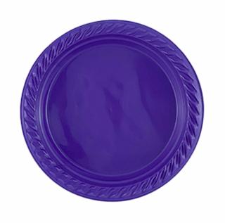أطباق فاخرة 17 سم (ملونة)