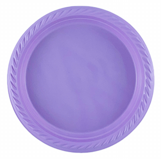 أطباق فاخرة (ملونة) 22 سم