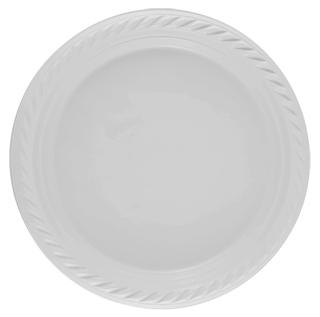 أطباق فاخرة 26 سم (بيضاء)